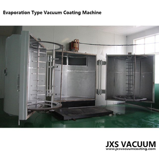 Vertical 2 Doors Thermal Evaporation Chrome Vacuum Metalizing Plastic Machine