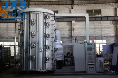 Vertical Front Loading Stainless Steel Furniture PVD Process Equipment