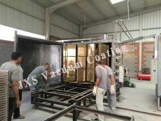 High Production Capacity Ceramic Tile Gold Silver Vacuum Coating System