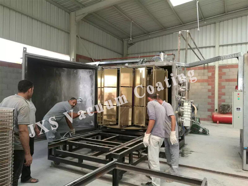 Ceramic Tile Gold PVD Coating System