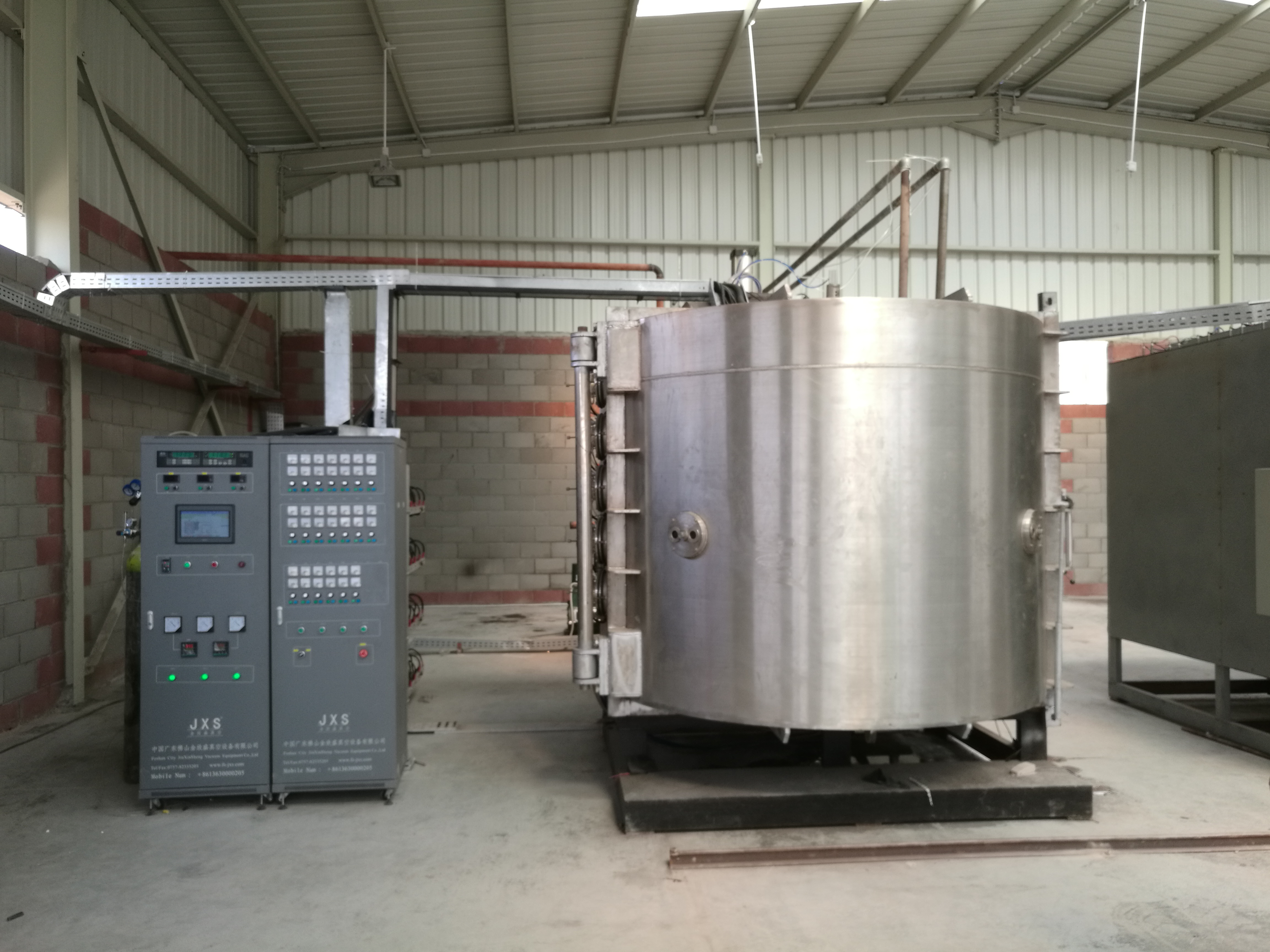Ceramic Sanitary Ware Gold PVD Coating Equipment Manufacturer